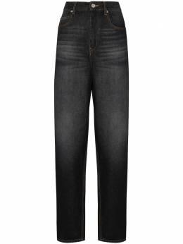 Isabel Marant Etoile прямые джинсы с завышенной талией PA136020A034E