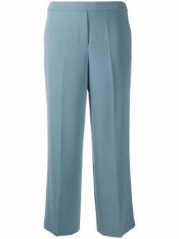 Theory укороченные брюки широкого кроя со складками K0609203