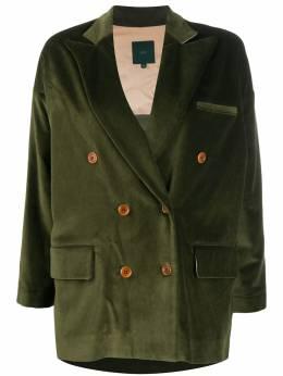 Jejia бархатный двубортный пиджак 2739J2G003Z