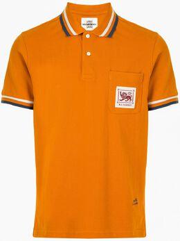 Kent & Curwen рубашка поло с нашивкой K40H9TM28065