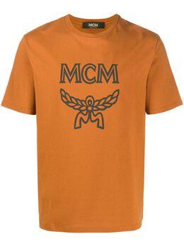 MCM футболка с логотипом MHTASMM04