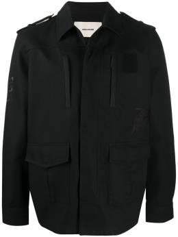 Zadig & Voltaire пальто с вышитым логотипом WJCD3405H