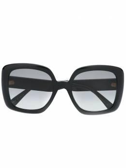 Gucci Eyewear солнцезащитные очки в квадратной оправе с отделкой Web 623884J1691