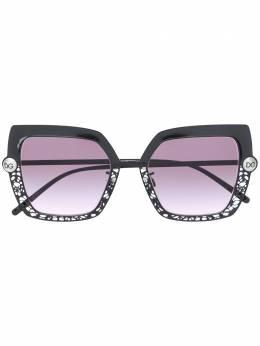 Dolce&Gabbana Eyewear солнцезащитные очки с вырезами 0DG2251H
