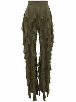 J.W. Anderson брюки с оборками TR0095PG0016575