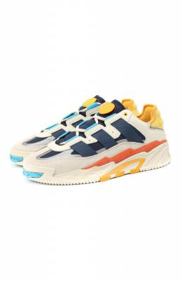 Комбинированные кроссовки Niteball Adidas Originals FV4842