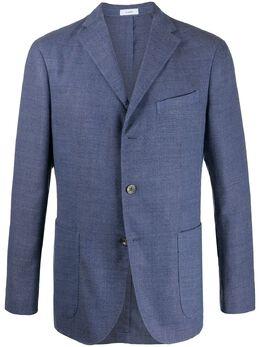Boglioli однобортный пиджак строгого кроя N2902JBLC404