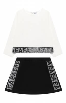Комплект из свитшота и юбки Emporio Armani 6HEV08/3J3PZ