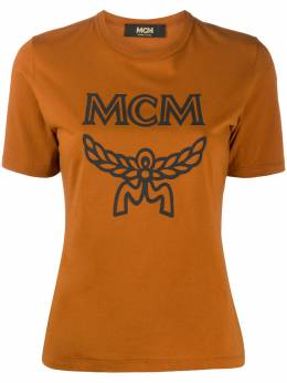 MCM футболка с логотипом MFTASMM03