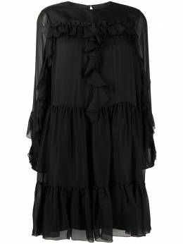 Temperley London ярусное платье Lovebird 20ULVB53515