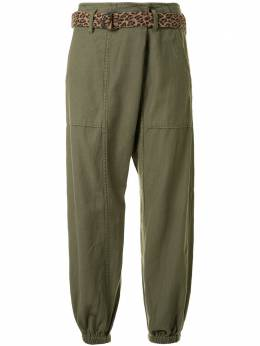 R13 брюки с низким шаговым швом и эластичным поясом R13W7732OL