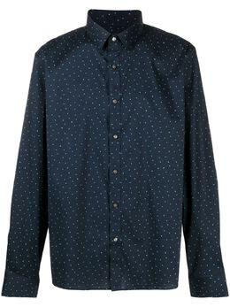 Michael Kors рубашка в мелкий горох CU04CK48RA