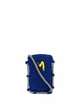 M Missoni сумка через плечо с вышитым логотипом 2DX000442V0017