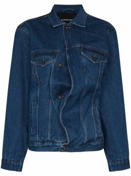 Y / Project джинсовая куртка асимметричного кроя JACK66S19