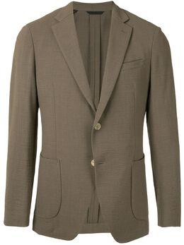 D'Urban однобортный пиджак из крепона D411B018I087