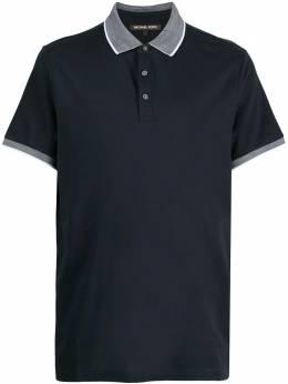 Michael Kors рубашка поло с контрастной отделкой CU05JFW74D