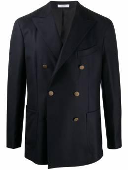 Boglioli двубортный пиджак с заостренными лацканами N4302LBBP051