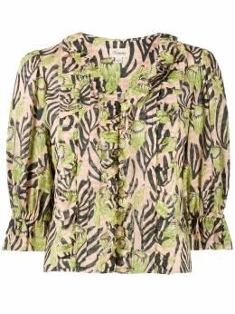 Temperley London блузка Reef с принтом 20URFP53534