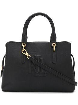 Lauren Ralph Lauren сумка-сэтчел Hayward с тисненым логотипом 431752893001