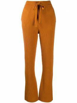 Dorothee Schumacher расклешенные брюки в рубчик 910408