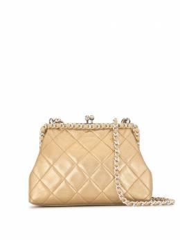 Chanel Pre-Owned стеганая сумка через плечо 1995-го года с цепочкой 3852293