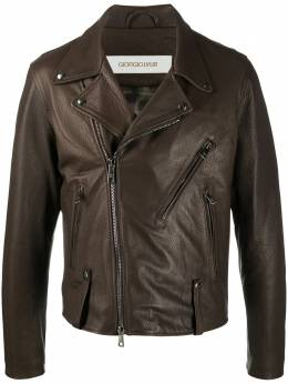 Giorgio Brato байкерская куртка GU21F9205DEER