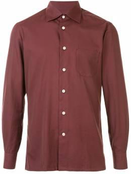 Kiton поплиновая рубашка UMCNERH07409