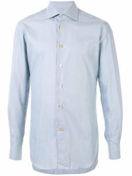 Kiton поплиновая рубашка UCCH05681