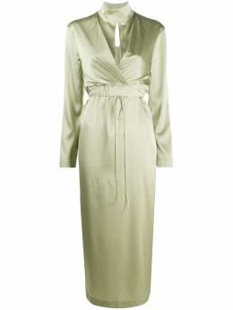 Materiel платье миди с запахом PF20LAM17344DROL