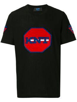 Kiton футболка с логотипом UMM0074