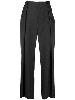 Comme Des Garcons Noir Kei Ninomiya широкие брюки с завышенной талией 3FP00405123