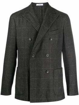 Boglioli двубортный клетчатый пиджак N4302JBPC4540990
