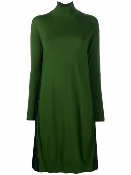 Pierantoniogaspari платье с плиссированными вставками 1S6331MKP2