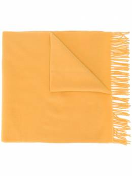 Moncler шарф с бахромой F20933C71100A0146
