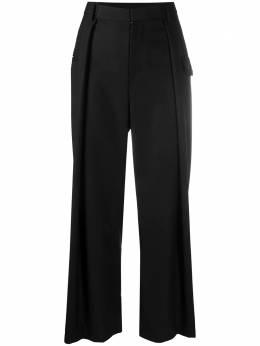 Comme Des Garcons Noir Kei Ninomiya брюки широкого кроя 3FP00405113