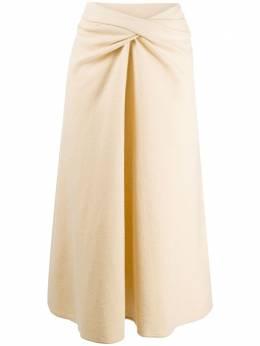 Lemaire юбка миди с драпировкой W203JE410LJ065