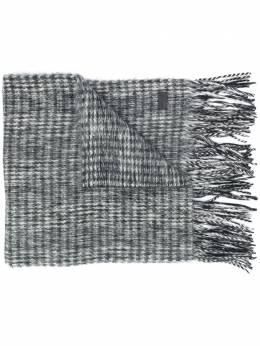 Saint Laurent фактурный шарф 6292194YC89