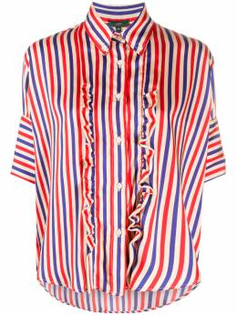 Jejia рубашка в полоску с оборками 2739J2E017190852