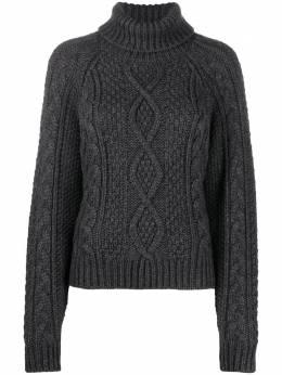 P.a.r.o.s.h. свитер фактурной вязки с высоким воротником LIVELYD512851