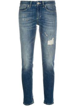 Dondup джинсы кроя слим с эффектом потертости P692DS0107AM7DD