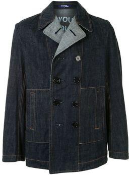 Junya Watanabe Comme Des Garcons Pre-Owned джинсовая куртка Poem WEJ004