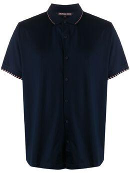 Michael Kors рубашка с отделкой в полоску CU05JE87TB
