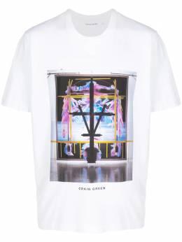 Craig Green футболка с графичным принтом CGAW20CJETSS03