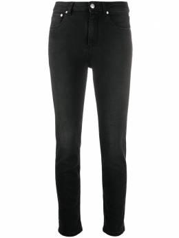 MSGM джинсы скинни с эффектом потертости 2941MDP56L207731