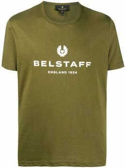 Belstaff футболка с круглым вырезом и логотипом 71140319J61N0103