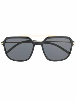 Dolce&Gabbana Eyewear солнцезащитные очки-авиаторы DG6129