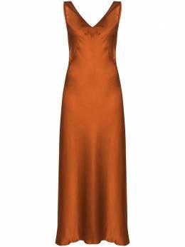 Asceno платье-комбинация The Bordeaux D003F01C67