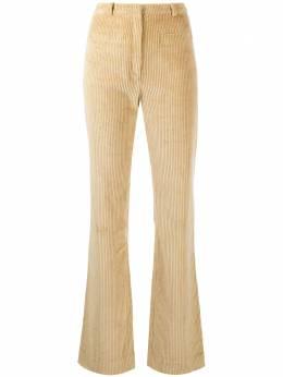 Paco Rabanne расклешенные вельветовые брюки с завышенной талией 20ACPA097C00369