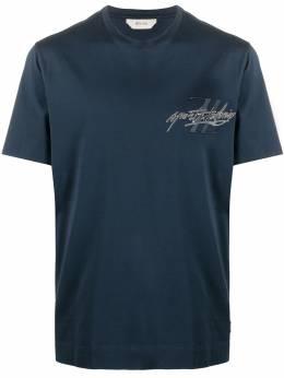 Ermenegildo Zegna футболка с короткими рукавами и логотипом VV372ZZ630M