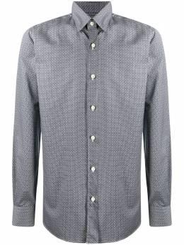 Ermenegildo Zegna рубашка с узором UVX26SSH1